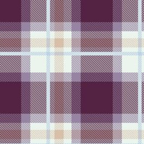 Purple and Magenta Plaid V.07