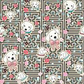 dog flower maze