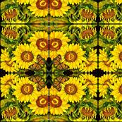 Girasoli Abstract Pattern