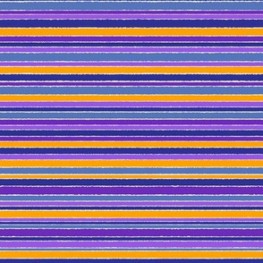 Striped Purple Blue Gold - horizontal
