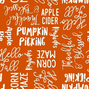 Favorite things of fall - fall words on cider - LAD19