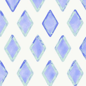 Electric Blue Mint Diamond