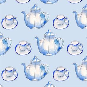 Blue Teaparty
