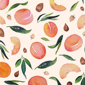 Apricot pattern light