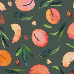 Apricot pattern dark