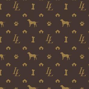 Louis Lab Luxury Doggy Days