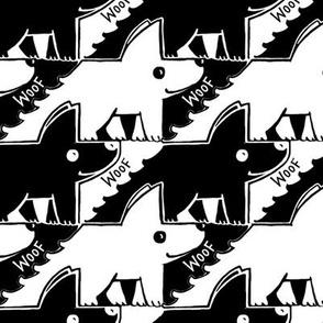 Dog-friendly houndstooth