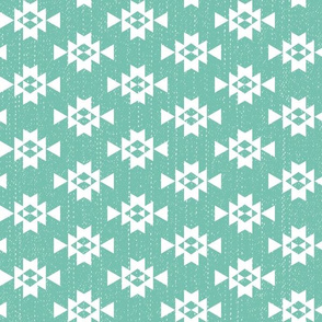 Southwest Patterns Spearmint