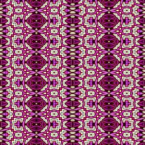 Aztec Style Vivid Purple