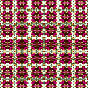 Hot Pink Star Blocks