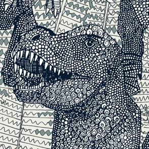 Tyrannosaurus rex indigo