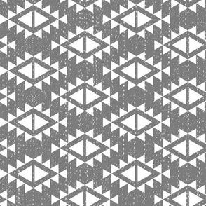 Southwest Patterns Grey