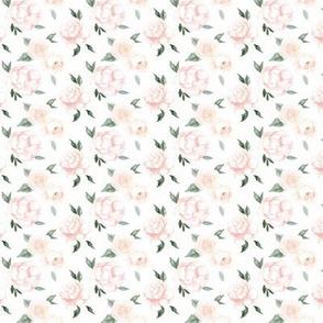 vintage blush blooms - micro