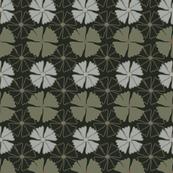 flower rounds, green