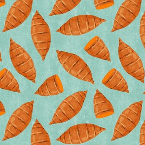 yams - sweetpotatoes - aqua - fall - thanksgiving - LAD19