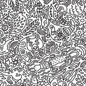 Australian animals_coloring