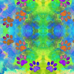 Dog Days - Dog Gone Paw Prints