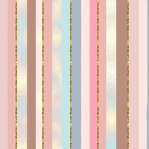 Fall Blush Stripe glisten verticle  glitter