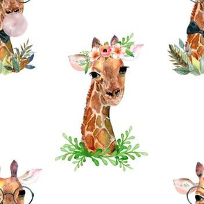 "7"" Boy and Girl Giraffe"