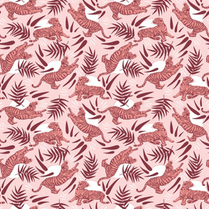 Pink Tigers and Bamboos / Small-Scale