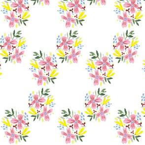 Modern Tropical Floral