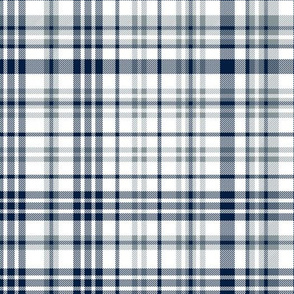 cowboys plaid - grey and blue plaid, football plaid, sports teams plaid, sports plaid, grey and blue check, grey and blue tartan