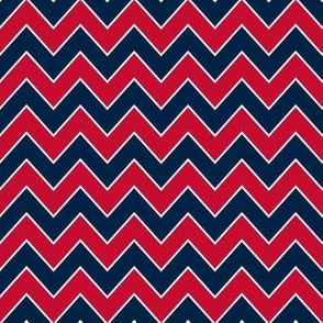 patriots chevron - navy and blue chevron, new england chevron, chevron, baby, boy, nursery, sports