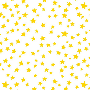 Little Stars in yellow