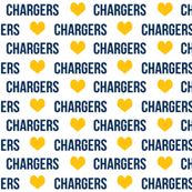 chargers fabric, los angeles fabric, la chargers, blue and gold fabric