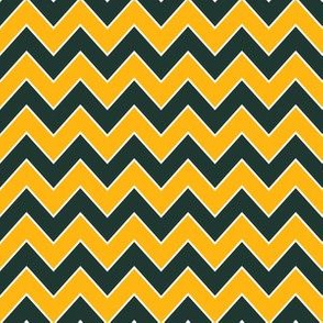 packers chevron - green and yellow chevron, sports, sports team, football, american football