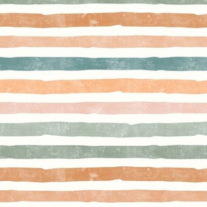 fall stripes - pastels - LAD19