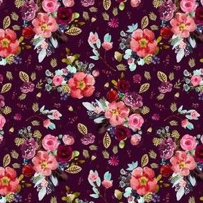 """4"""" Crimson Blooms Plum"""