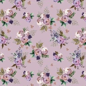 """4"""" Cold Autumn Muted Lilac"""