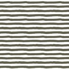 """8"""" Olive Stripes"""