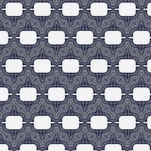 Blue Gray Wave Blocks