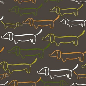 Dog Days - Sausage dogs marching