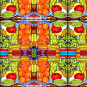 Farm Table Abstract Pattern