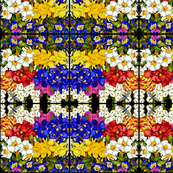Fabulous Florals #2  Abstract pattern