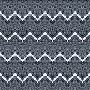 Zigzag Gothic Lace