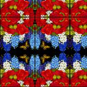 Beautiful Garden Abstract Pattern