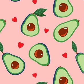 Avocado and Hearts
