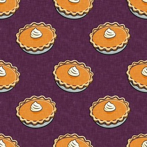 Pumpkin Pies - Fall thanksgiving food - pie lover - plum - LAD19