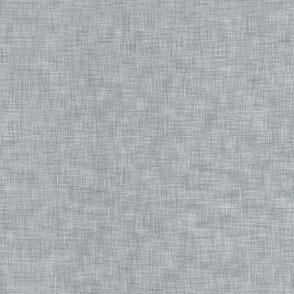 Solid Linen (mid grey)