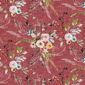 La Boheme Floral (dusty pink) SML