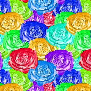 Rainbow Roses #4