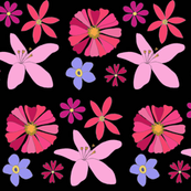 Midnight Wildflowers
