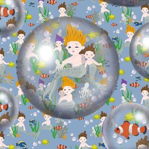 Tiny Bubbles Mermaids