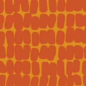 Pebbles orange
