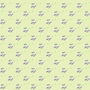 Triple Lavender-Gray