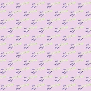 Triple Lavender-Purple